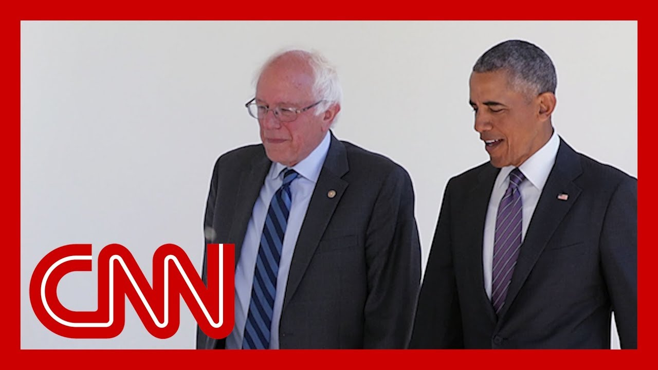 Bernie Sanders touts Obama's praise in TV ad but has been sharply critical of Obama in the past 1