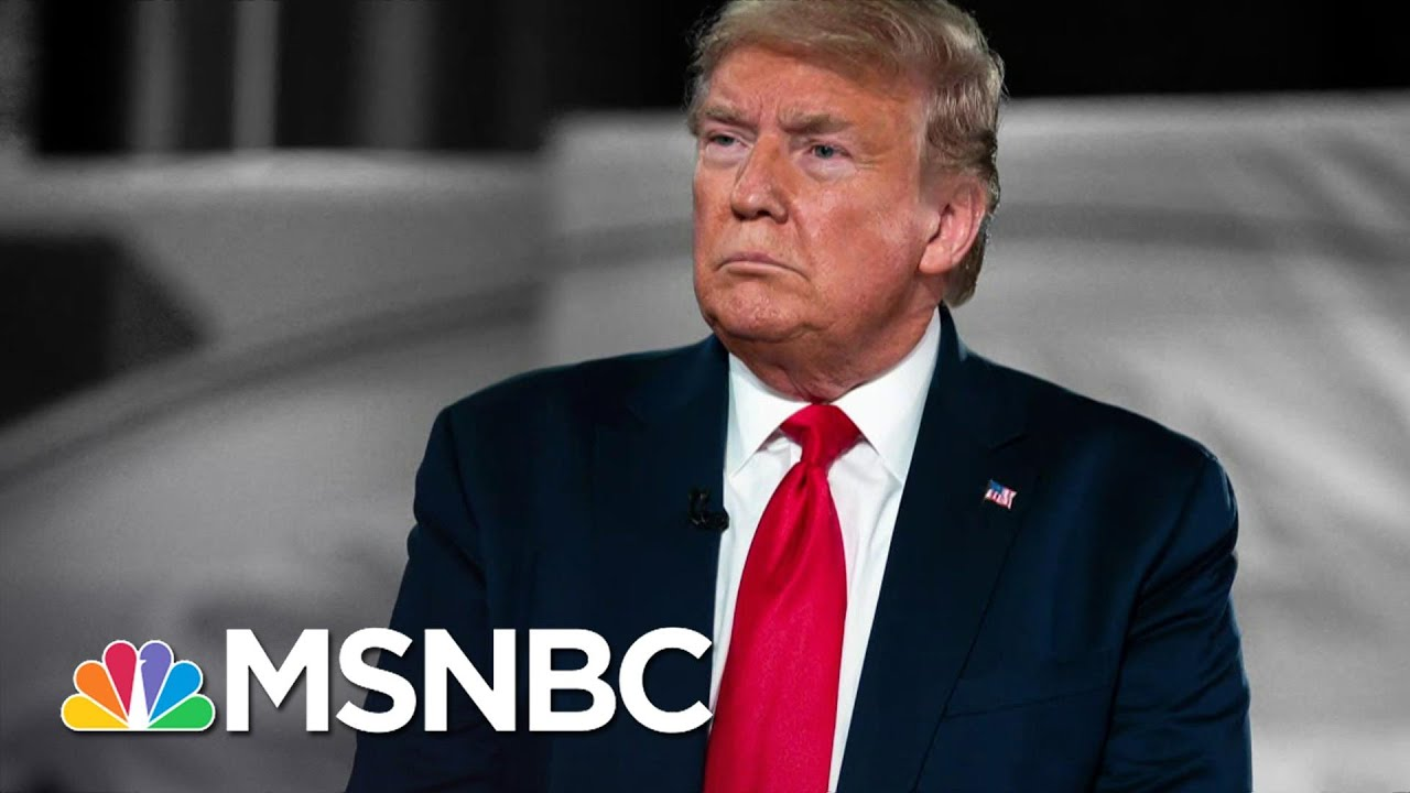 Trump Is Not Telling The Truth About The Coronavirus   The 11th Hour   MSNBC 1