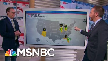 Joe Biden Set To Be Delegate Leader In Next Primary Races | MTP Daily | MSNBC 6