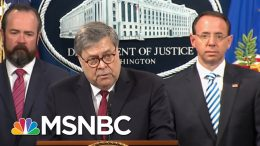 Federal Judge Blasts Barr Over Mueller Report | Deadline | MSNBC 8