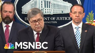 Federal Judge Blasts Barr Over Mueller Report | Deadline | MSNBC 6