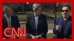 Arnold Schwarzenegger, John Kerry, and John Kasich announce 'World War Zero' coalition 1