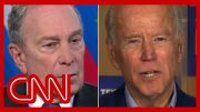 Bloomberg says Biden isn't viable: He's a legislator not a manager 5