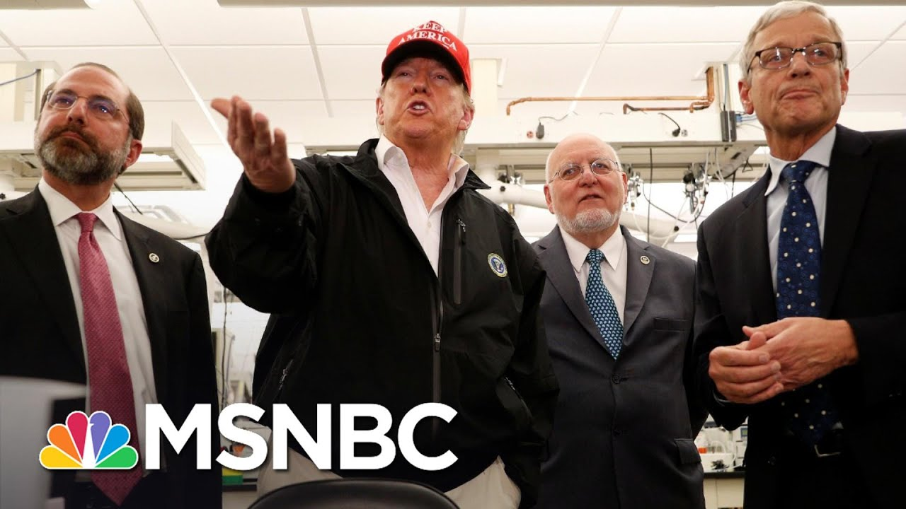 Trump Goes Off Message Again With Coronavirus Response | The 11th Hour | MSNBC 8