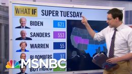 Uphill Climb For Sanders After Biden's Super Tuesday Wins | The 11th Hour | MSNBC 5