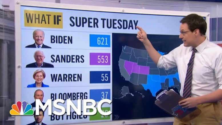 Uphill Climb For Sanders After Biden's Super Tuesday Wins | The 11th Hour | MSNBC 1