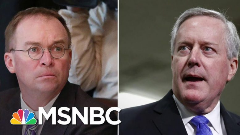 """""""Not The Time You Want To Play Musical Chairs"""" –Fmr Obama Staffer On Trump WH Shakeup 
