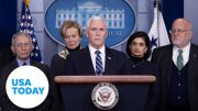 Vice President Pence and Coronavirus Task Force hold press briefing (LIVE) | USA TODAY 5