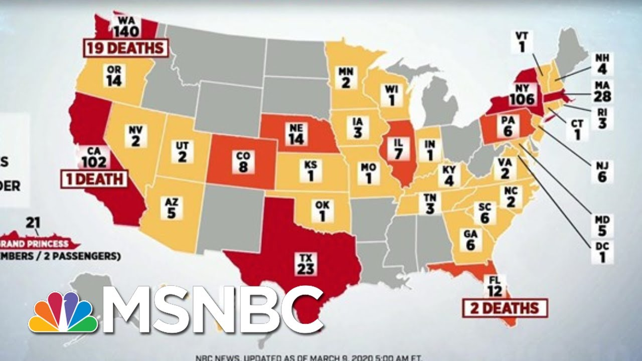 Health Experts Say Virus Past The Point Of Containment   Morning Joe   MSNBC 6