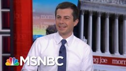 Pete Buttigieg: Lives Depend On The Wisdom, Judgment Of The President | Morning Joe | MSNBC 1