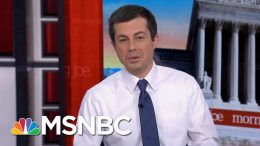 Pete Buttigieg Sees A Familiarity In Joe Biden's Campaign | Morning Joe | MSNBC 6