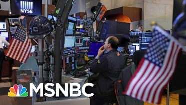 Stocks Plunge At Market Open, Trading Halts After Dow Drops 1800 Points | Velshi & Ruhle | MSNBC 6