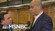 Sen. Cory Booker: Joe Biden Is The Best Candidate To Beat Trump | Velshi & Ruhle | MSNBC 4