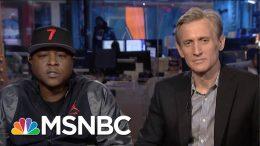 Jadakiss Talks New Album 'Ignatius,' Lyrics For 'Why' With Ari Melber | MSNBC 8