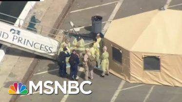 Donald Trump Stares Down His First Twitter-Immune Nemesis | Deadline | MSNBC 6