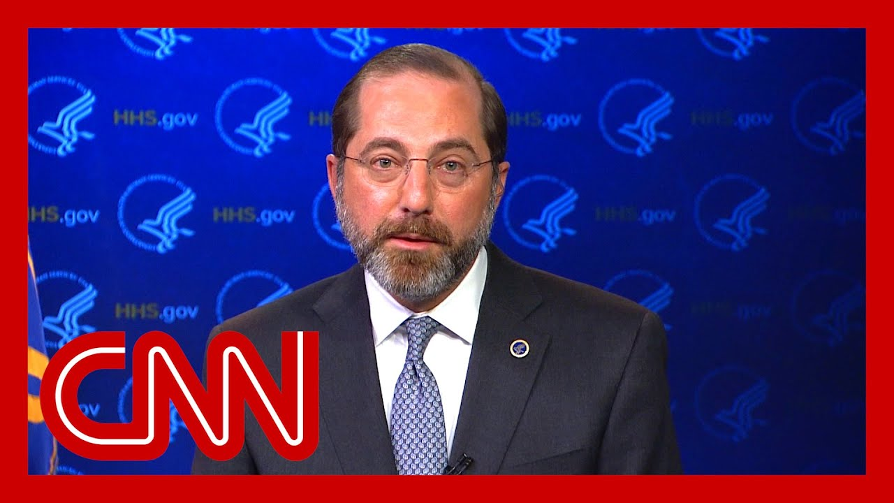 HHS secretary: We don't know how many have been tested yet 9