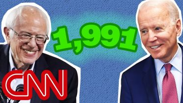 Where do the delegates go that Sanders and Biden didn't win? 6