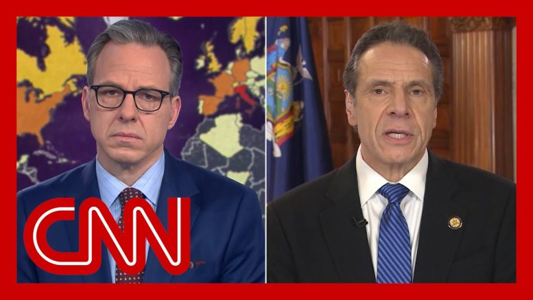 NY governor: We're not going to stop coronavirus at this rate of testing 1