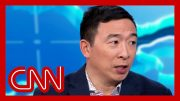 Andrew Yang responds to report Michael Bloomberg offered him VP 2