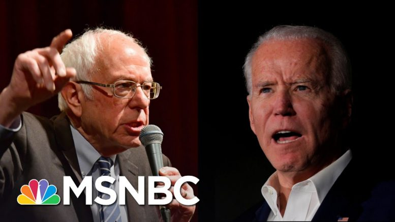 Biden And Sanders Face Off In Six Key States In Next Round Of Primaries | The 11th Hour | MSNBC 1