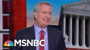 Bill De Blasio: New York Can't Shut Down Over Undue Fear | Morning Joe | MSNBC 3
