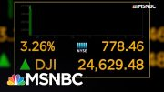 Markets Rebound After Worst Day Since Financial Crisis | Velshi & Ruhle | MSNBC 4