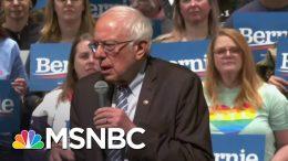 Biden, Sanders Squaring Off In Key Primaries   Velshi & Ruhle   MSNBC 9