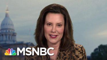 Gov. Whitmer: I Want To Help Biden Vet A Running Mate | Andrea Mitchell | MSNBC 1