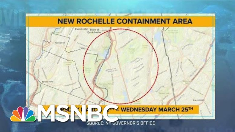 Why New Rochelle isn't 'Quite A Quarantine Zone' | MTP Daily | MSNBC 1