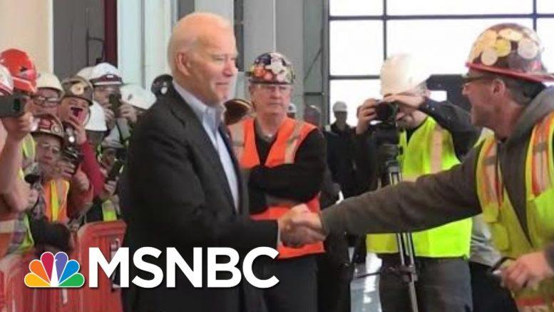 Joe Biden's Moment With An Auto Worker In Detroit | Deadline | MSNBC 1