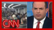 Brian Stelter reacts to airport lines: What the hell happened there? 2