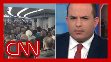 Brian Stelter reacts to airport lines: What the hell happened there? 6