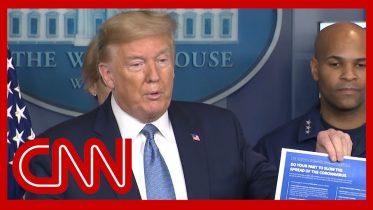Trump announces tougher coronavirus guidelines 2