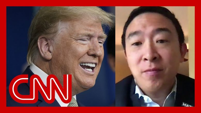 See Andrew Yang's reaction to plan to send Americans checks 1