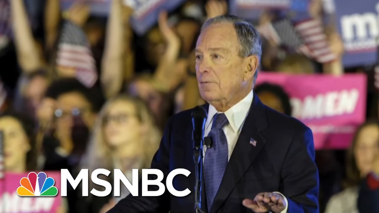 Michael Bloomberg Faces First Ballot Test On Super Tuesday   Morning Joe   MSNBC 6