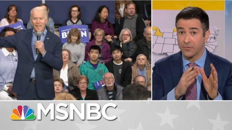 Trump Election Nightmare? Obama-Biden Coalition Reunites For Biden 2020   MSNBC 1