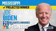 Joe Biden Wins In Mississippi, NBC News Projects | MSNBC 5