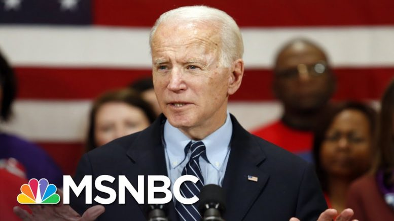 Does Biden Pivot To The General After Wins In Michigan And Beyond? | MSNBC 1