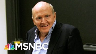 Jack Welch, Former Chairman And CEO Of GE, Dies At 84 | Morning Joe | MSNBC 4