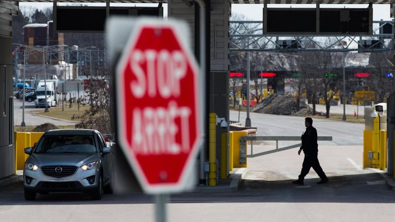 Canada-U.S. border to be closed to all non-essential travel over COVID-19 pandemic 1