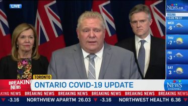 "Ford on COVID-19: ""The federal government is stepping up in a big, big way"" 6"