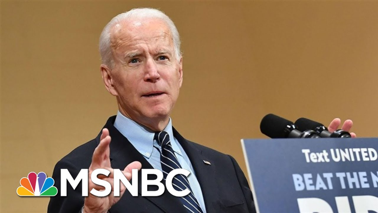 With Biden's Big Wins, What's Next For Sanders? - Day That Was   MSNBC 1