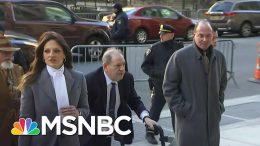 The Courtroom Was 'Heavy With Emotion' As Weinstein Was Sentenced To Prison | Craig Melvin | MSNBC 4