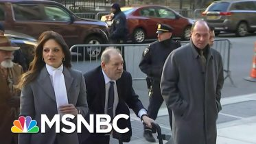 The Courtroom Was 'Heavy With Emotion' As Weinstein Was Sentenced To Prison | Craig Melvin | MSNBC 6