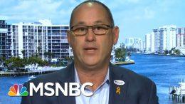 Father Of Parkland Victim Endorses Joe Biden | Velshi & Ruhle | MSNBC 7