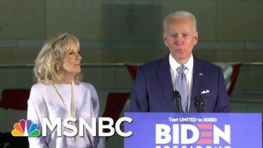 Joe Biden Takes A Commanding Lead Over Bernie Sanders | Deadline | MSNBC 6