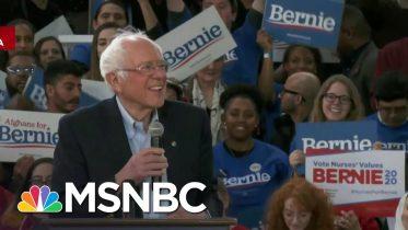 Bernie Sanders Confident Of Super Tuesday   Velshi & Ruhle   MSNBC 6