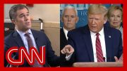 Trump rants at reporter asking about scared Americans 5
