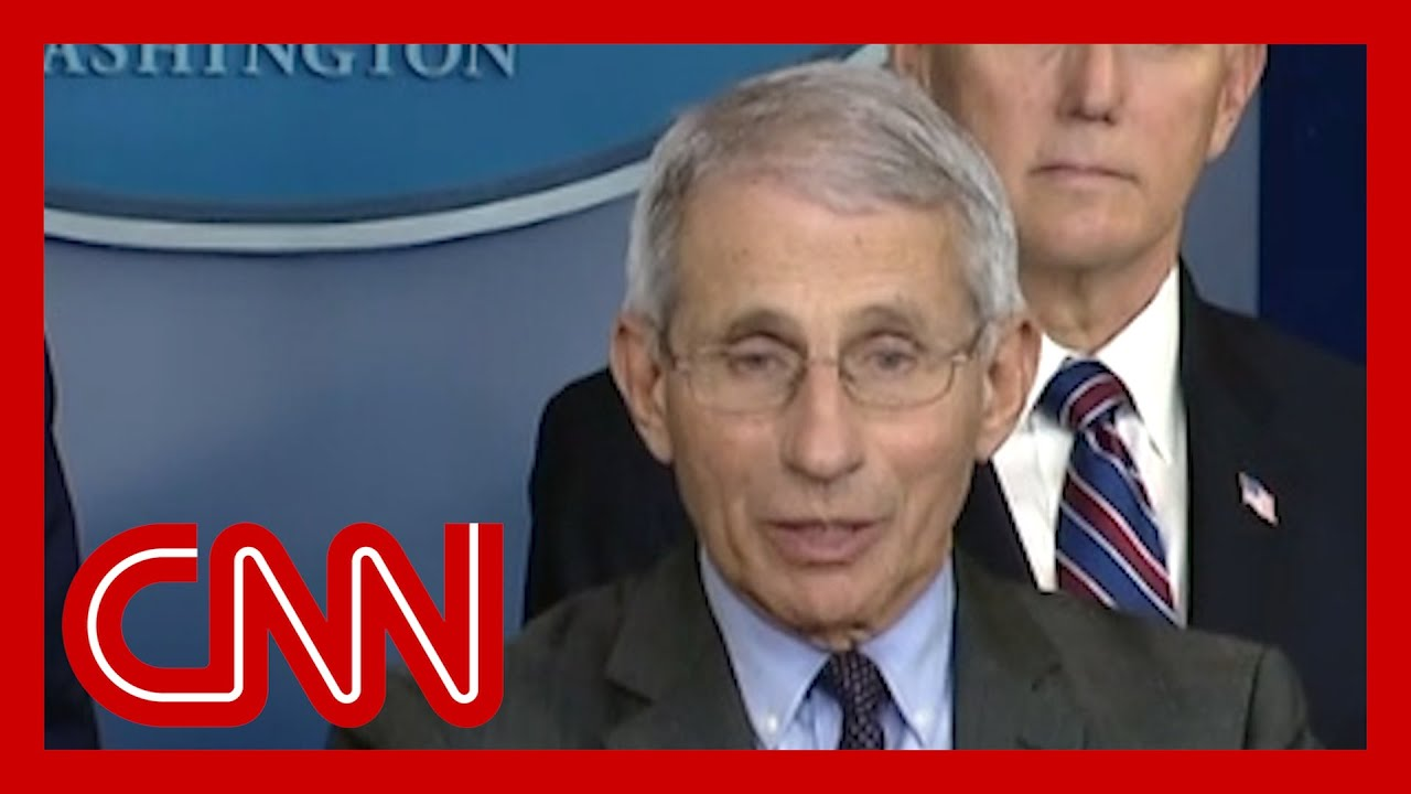Fauci on Trump: 'I can't jump in front of the microphone and push him down' 1