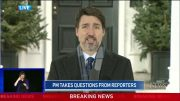 """Trudeau to Canadians: """"Enough is enough, go home and stay home."""" 5"""